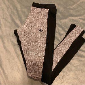 Adidas Leggings black and white